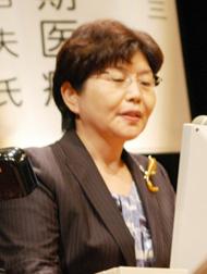 日本看護協会副会長の大久保清子氏