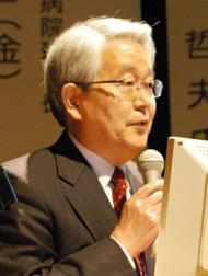 日本病院会会長の堺常雄氏
