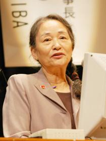 勝田登志子氏(認知症の人と家族の会副代表)