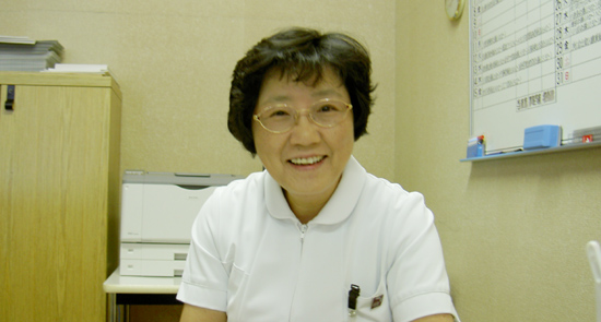服部紀美子氏(定山渓病院副院長兼看護部長)