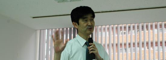 秋下雅弘先生(東大医学部附属病院・老年病科教授)