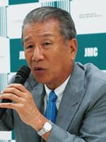 武久会長(2014年8月21日の会見)