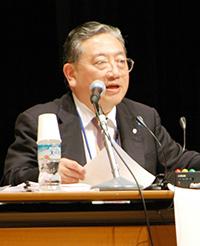 座長(安藤高朗・日慢協副会長)