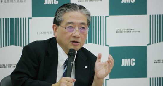 安藤高朗副会長_平成29年7月13日の記者会見