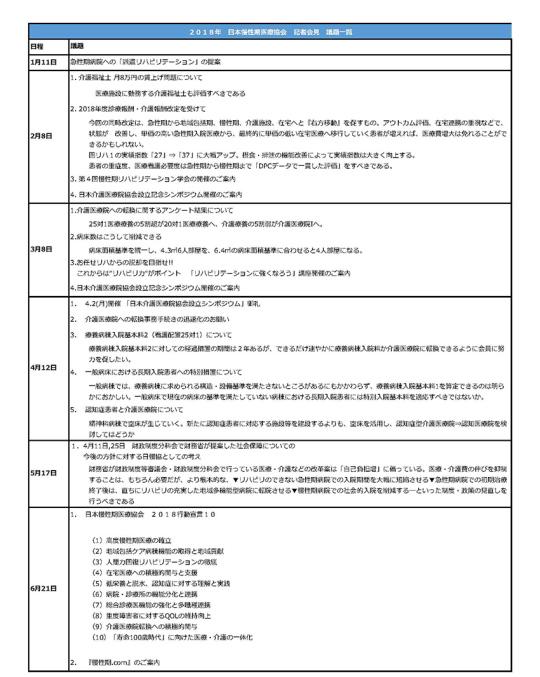 2019年頭所感(表1)ページ1