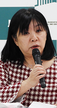 橋本康子副会長_20200213_日慢協会見