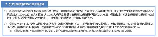 07スライド_P10抜粋-初診料召し上げの説明_【資料2】定額負担の拡大について_20201119医療保険部会