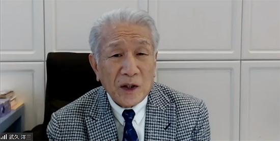 武久洋三会長_2021年1月14日の定例記者会見